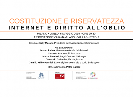 INTERNET E DIRITTO ALL'OBLIO